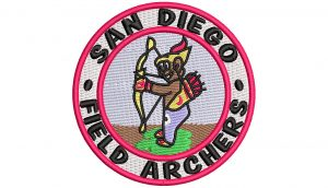San Diego Field Archers patch