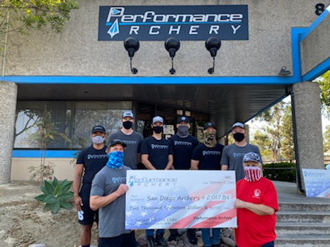 Performance Archery Donation