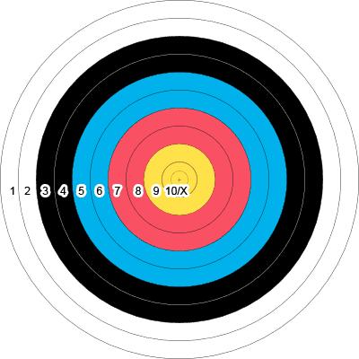 900 Round Target